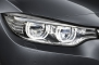 2014 BMW 4 Series Headlamp Detail