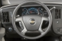 2013 Chevrolet Express LS 2500 Passenger Van Steering Wheel Detail